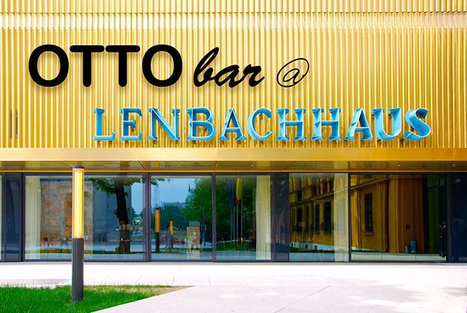 Zuletzt stand die Otto Bar zur Kunstbiennale 2017 auf der Dachterrasse des Hotel Gabrielli in Venedig. Jetzt im Garten des Lenbachhaus
