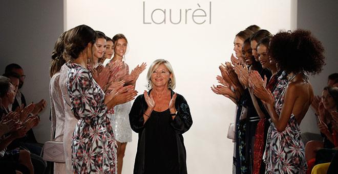 Laurel Designerin Elisabeth Schwaiger wird in Berlin gefeiert. Fotocredit: Franziska Krug, GettyImages
