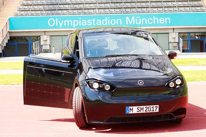 Das Münchner Unternehmen Sono Motors stellt die nächste Generation der Elektroauto vor!