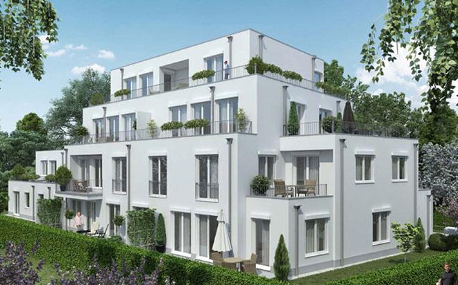 Die neue Stadtvilla von RS Wohnbau. Fotocredit: neubaukompass.de