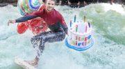 Surfen, Wellenreiten, Eisbach: Münchner Riversurfer feiern Geburtstag