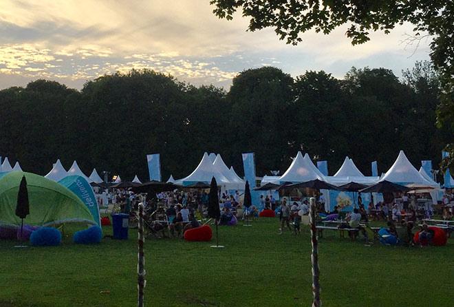 Taste of München Bilder vom Festival gegen 20:30!