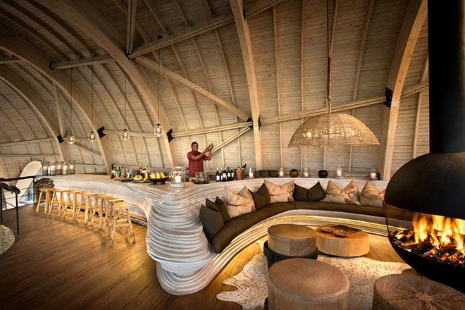 andBeyond Sandibe Okavango Safari Lodge wartet mit einigen klassischen Cocktailrezepte auf