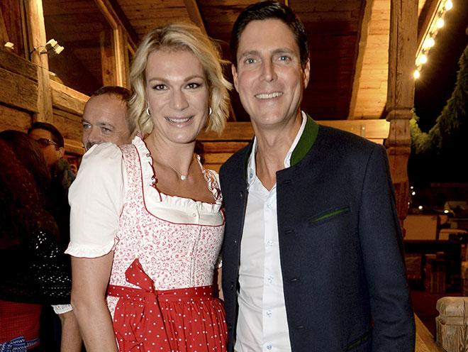 Maria Höfl-Riesch mit Mann Marcus. Fotocredit: Wolfgang Breiteneicher, SchneiderPress