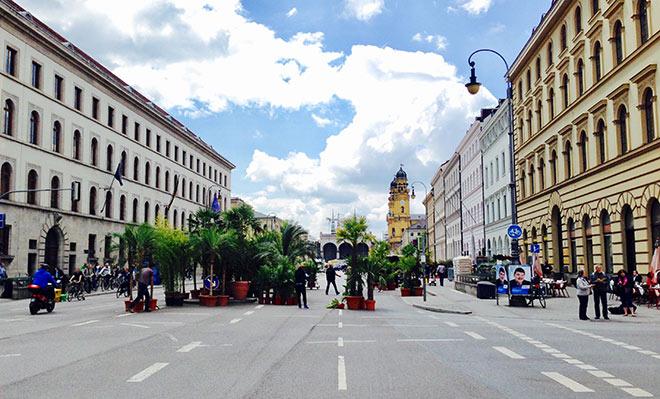 Die ganze Ludwigstraße ist beim Streelife Festival Fußgängerzone!