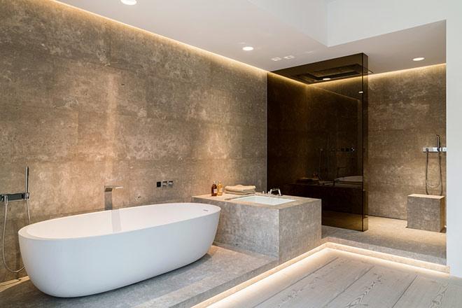 Welcher Platz ist für eine Badewanne der Beste?