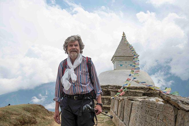 'Das Leben selbst erfindet die besseren Geschichten als die Phantasie', ist sich Reinhold Messner sicher. Fotocredit: Lars Jacobson