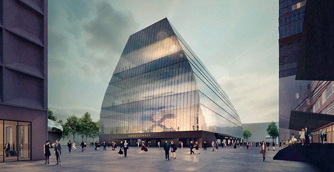 Der Entwurf vom Konzerthaus München kann man in einer Ausstellung in der WhiteBox bis 26. November 2017 selbst erkunden.