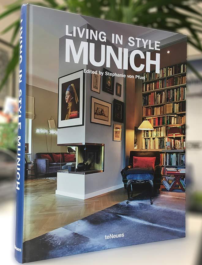 Auch einige Badezimmer werden im 'Living in Style Munich'-Buch vorgestellt!
