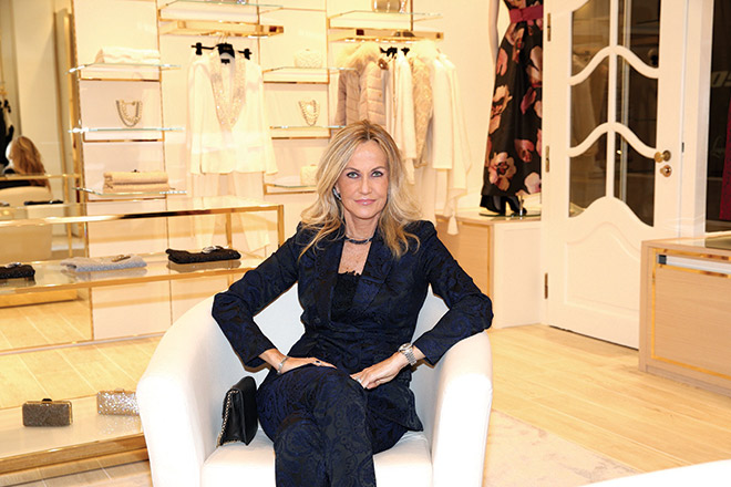 Nicoletta Spagnoli ist CEO des italienischen Modelabels Luisa Spagnoli. Fotocredit: Gisela Schober, GettyImages