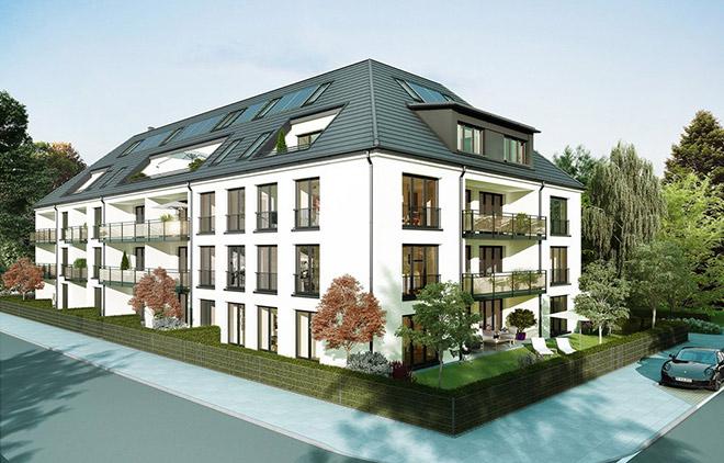 2019 werden die Eigentumswohnungen hier bezugsfertig sein. Fotocredit: neubaukompass.de