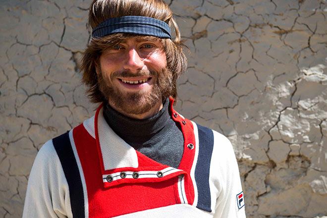 Simon Messner spielt seinen Vater Reinhold Messner.