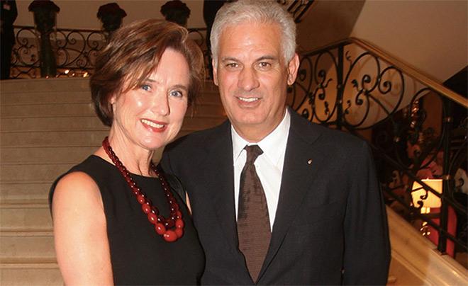 Arturo Prisco mit seiner Frau Helga. Fotocredit: Tom von SchneiderPress