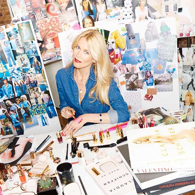 Claudia Schiffer kreiert Make Up-Kollektion mit den Beauty-Geheimnissen eines Models. Fotocredit: Artdeco