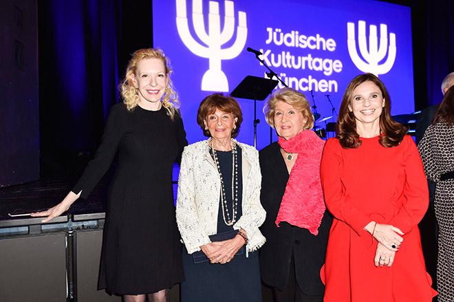 Sunnyi Meles, Dr. Charlotte Knobloch, Ilse Ruth Snopkowski und Judith Epstein. Fotocredit: Sabien Brauer / BrauerPhotos