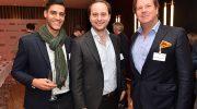 Jungunternehmer und Top-Manager Network-Dinner 2017