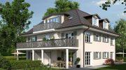 Wohn-Statement Solln: Stadthaus oder Wohnung im Hofgut Solln
