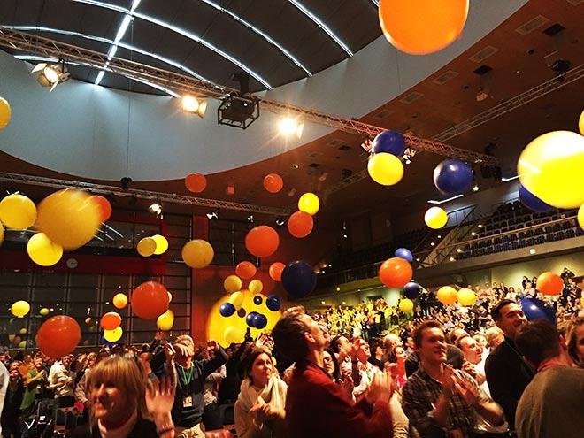 Willkommene Abwechslung zwischendurch: Luftballons als Symbol für mentale Freiheit