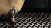 Exklusive Badezimmerfliesen: Fußboden als Design-Element