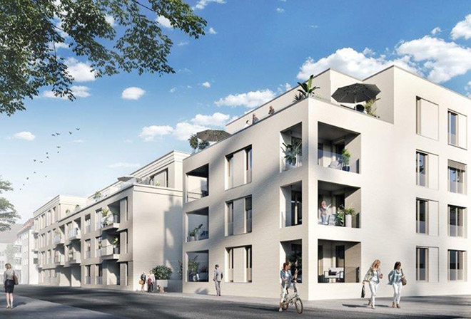 Pasing Central ist der Name von Pasings neuestem Neubauprojekt. Fotocredit: neubaukompass.de