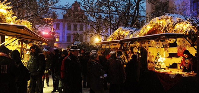 @ Weihnachtsmarkt Regensburg Thurn und Taxis. Fotocredit: Tino Lex für Veranstaltungsservice Regensburg Peter Kittel GmbH