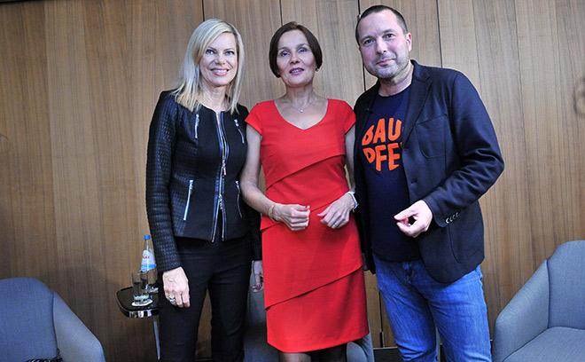 Die Protagonisten des 4. Salongesprächs im Hotel Bayerischer Hof München