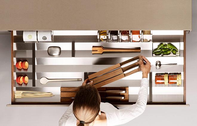 Bulthaup Küchen lieben Millionäre. Fotocredit: Gerhardt Kellermann