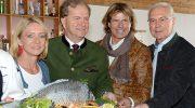 Karpfenessen in Kitz: Franz Beckenbauer lud zu seinem traditionellen Fischessen