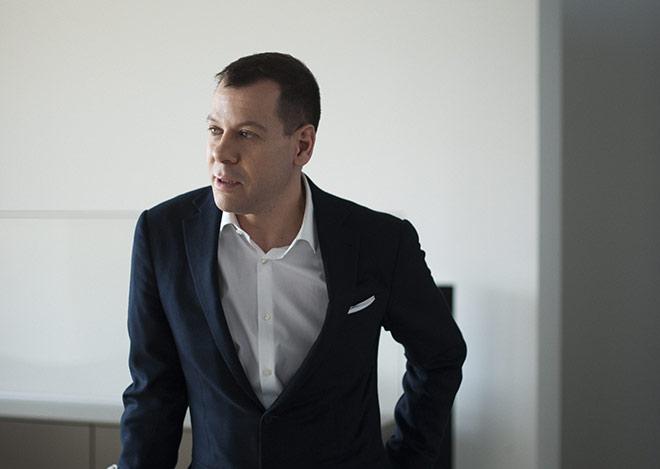 Seit 2010 ist Marc O. Eckert als Enkel des Firmengründers der Bulthaup CEO. Fotocredit: bulthaup küchen