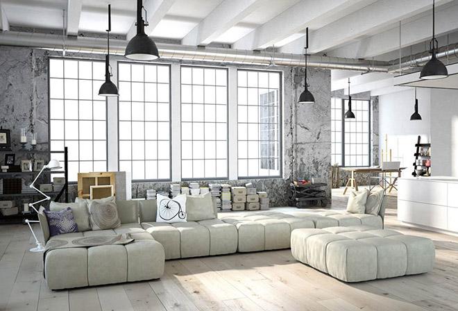 Auf so eine Wohnungschance warten manche ihr Leben lang: Ein Loft mitten in Schwabing als Eigentumswohnung! Fotocredit: neubaukomass.de