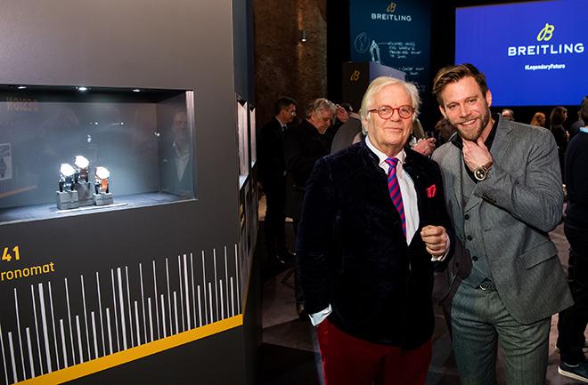 Pianist und Dirigent Justus Frantz mit Schauspieler Ken Duken. Fotocredit: Hannes Magerstaedt, GettyImages
