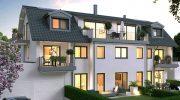 Stadtvilla in Allach: Exklusive Dachwohnung mit Deckenhöhen wie beim Altbau