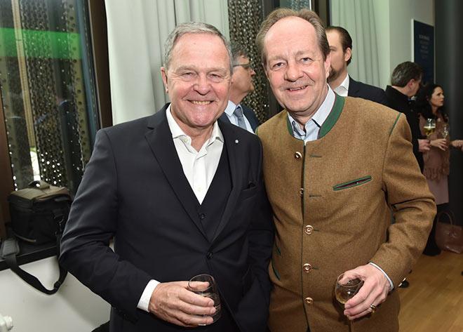 Dr. Wolfgang Heubisch mit Dr. Georg Freiherr von Gumppenberg. Fotocredit: Hannes Magerstädt