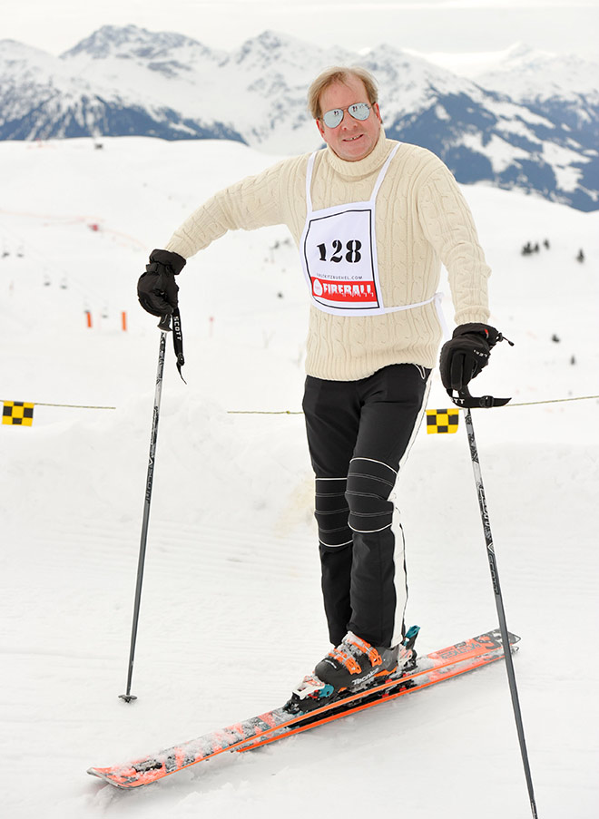 Andreas Baron von Maltzan beim Fireball Skirennen. Fotocredit: G. Nitschke, BrauerPhotos
