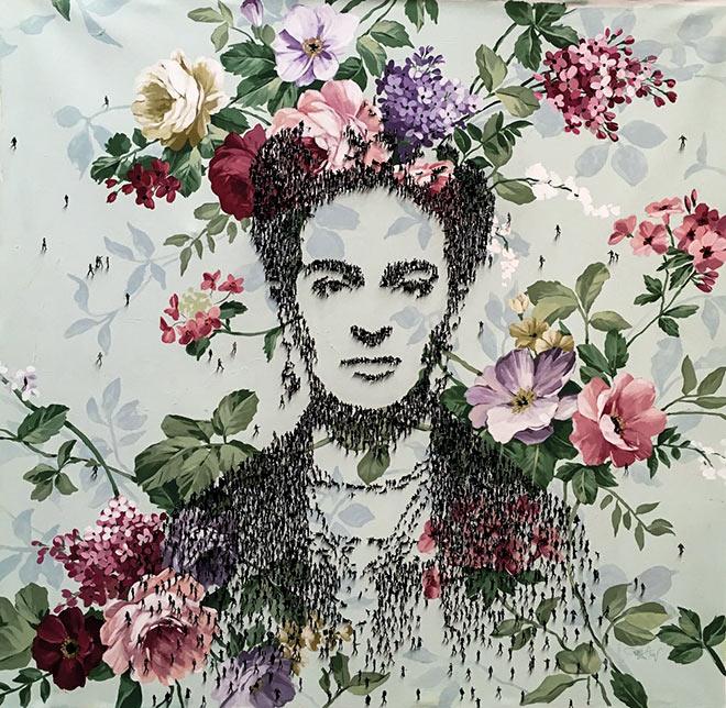 'Frida Kahlo' von Craig Alan. Fotocredit: Galerie Mensing