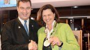 Brauchtum: Ilse Aigner Nachfolgerin von Markus Söder bei den Königstreuen