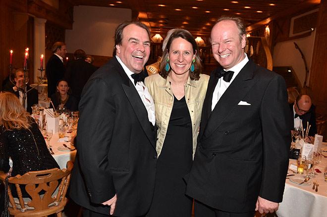 Philipp und Saskia Hohenlohe mit Stefan Hipp. Fotocredit: G. Nitschke, BrauerPhotos