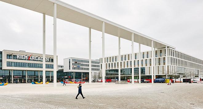 Riem Arcaden als größtes Stadtquartier Bayerns Fotocredit: Daniel Schäfer