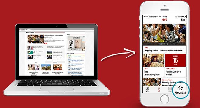 Die mobile Nutzung nimmt auch für Unternehmenswebsites immer mehr zu!