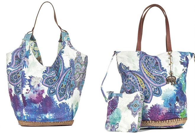 Jede Handtasche ziert ein kleiner Elefant. In Indien das Symbol für das Leben. Fotocredit: Anokhi Fashion