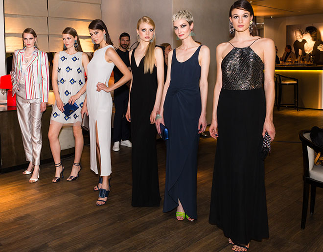 Emporio Armani Fashion Show in den Fünf Höfen. Fotocredit: Stefan J. Wolf