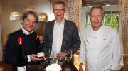 Genuss-Abend bei Feinkost Käfer: Günther Jauch kredenzte seinen Riesling