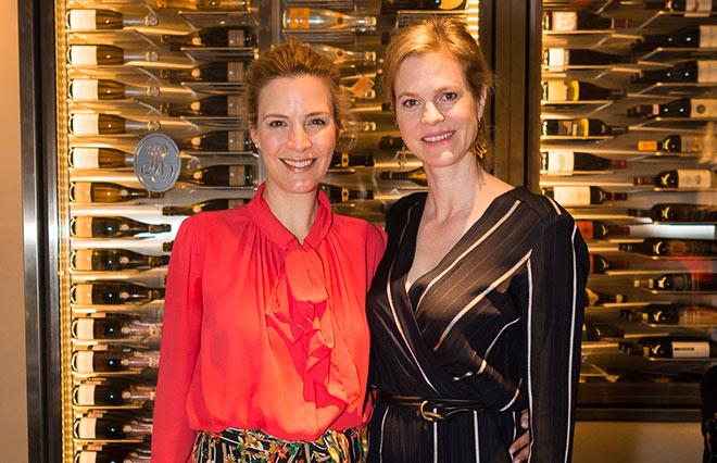 Viola Weiss und Minzi zu Hohenlohe