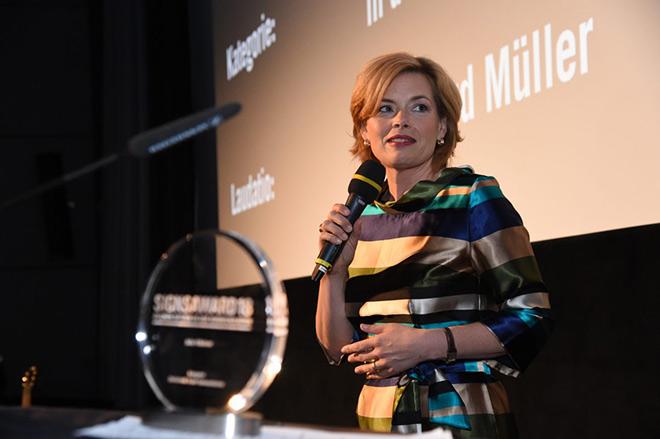 Julia Klöckner, Bundesministerin für Ernährung, Kinder und Verbraucherschutz