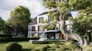 Neubauprojekt: Vier Stadthäuser in Solln real geteilt