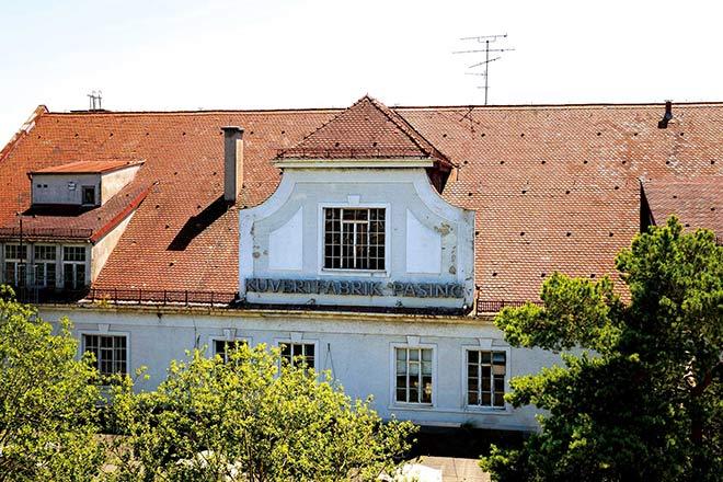 Tolle Kino-Kulisse: Alte Kuvertfabrik Pasing. Das Neubau-Quartier 2019! Fotocredit: Sorin Morar