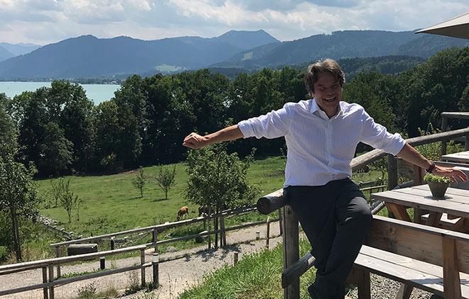 Michael Käfer zeigt uns sein schönes Plätzchen am Tegernsee: Gut Kaltebrunn