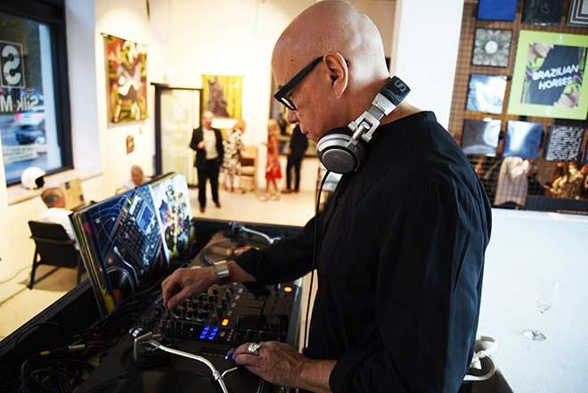 Hermès Silk Mix München mit Promi-DJ