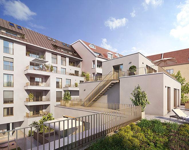 WOW-Architektur in Alt-Schwabing! Diese Wohnungen unterliegen den Erhaltungssatzungen München. Fotocredit: neubaukompass.de