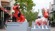 Ingolstadt Village Kunst: Street Dogs Maskottchen im neuen Look!